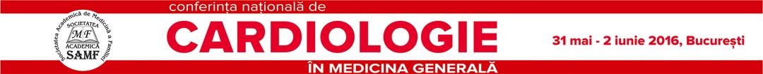 Conferinta Nationala de Cardiologie in Medicina Generala 2016 Logo