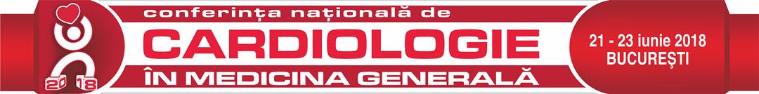 Conferinta Nationala de Cardiologie in Medicina Generala 2018 Logo