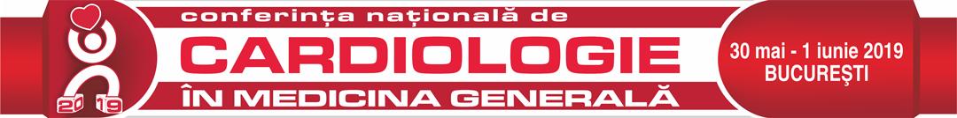 Conferinta Nationala de Cardiologie in Medicina Generala 2019 Logo
